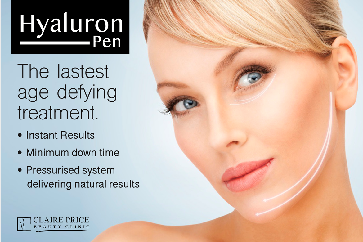 Hyaluron Pen at Claire Price