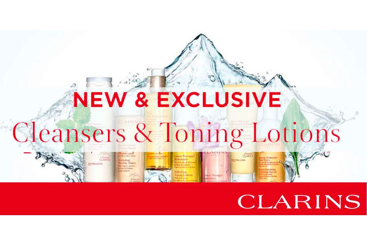 Clarins Cleansers & Toning Lotions