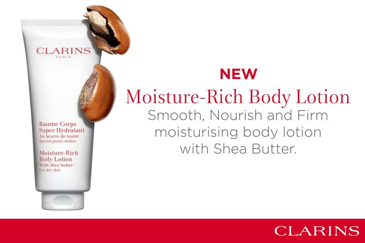 New Moisture-Rich Body Lotion from Clarins